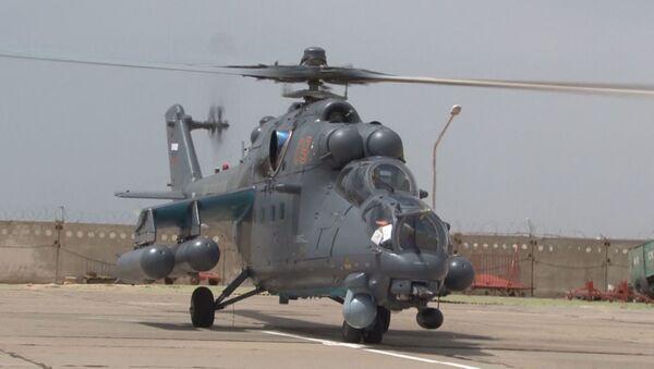 Вертолеты Ми-35 для вооруженных сил Казахстана - Sputnik Ўзбекистон