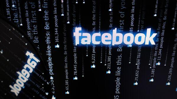 Facebook фэйсбук лого - Sputnik Ўзбекистон