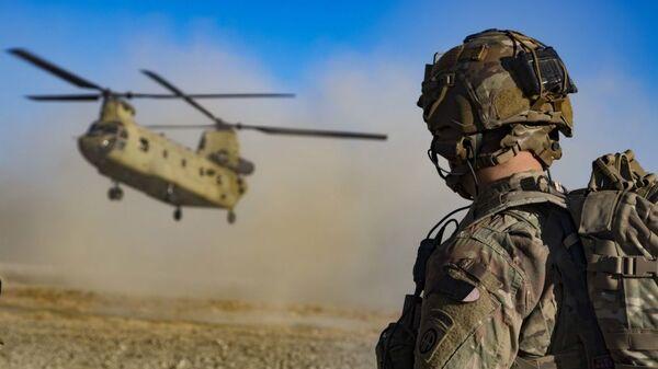 Американские военные на юго-востоке Афганистана - Sputnik Ўзбекистон