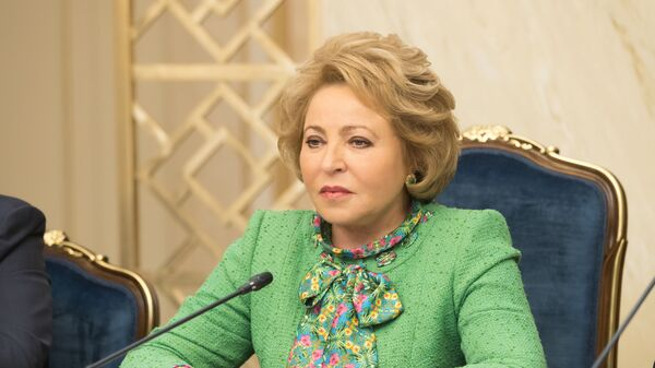 Valentina Matviyenko - Sputnik Oʻzbekiston