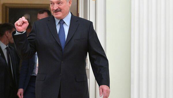 Президент РФ В. Путин встретился с президентом Белоруссии А. Лукашенко - Sputnik Узбекистан