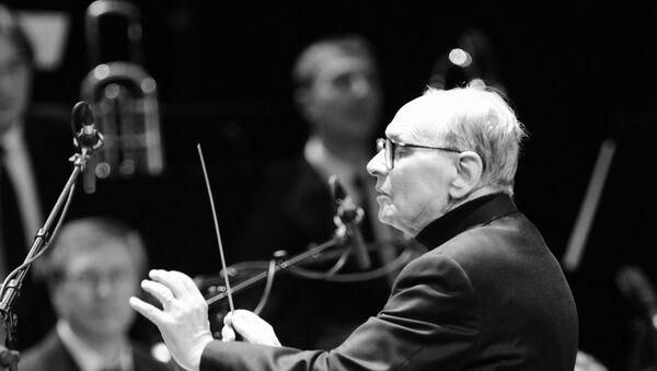Концерт композитора и дирижера Эннио Морриконе - Sputnik Узбекистан