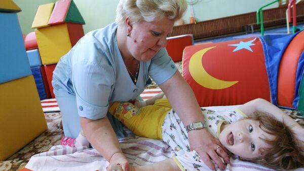 Центр восстановительного лечения для детей-инвалидов в Казани - Sputnik Узбекистан