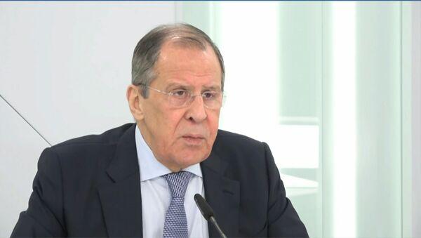 Лавров заявил об одержимости США идеей сдерживания России и Китая - Sputnik Ўзбекистон