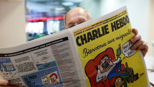Frantsiyaning Charlie Hebdo satirik jurnali. - Sputnik Oʻzbekiston