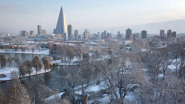 Вид на города Пхеньян. Северная Корея - Sputnik Узбекистан