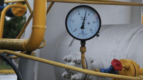 Манометр на газокомпрессорной станции - Sputnik Узбекистан