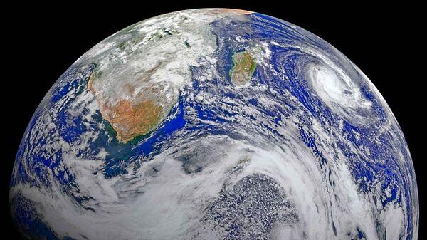 Планета Земля. Вид из космоса - Sputnik Ўзбекистон