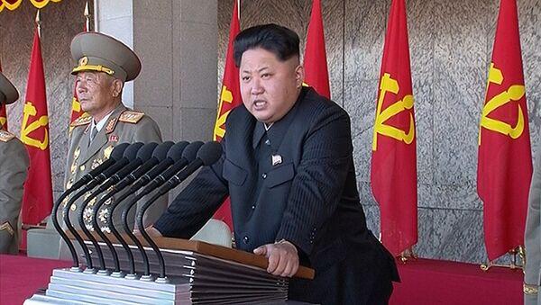 Северокорейский лидер Ким Чен Ын - Sputnik Ўзбекистон