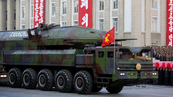 Ballisticheskiye raketы na parade v Pxenyane. Severnaya Koreya - Sputnik Oʻzbekiston