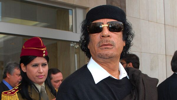 Muammar Qaddafiy - Sputnik Oʻzbekiston