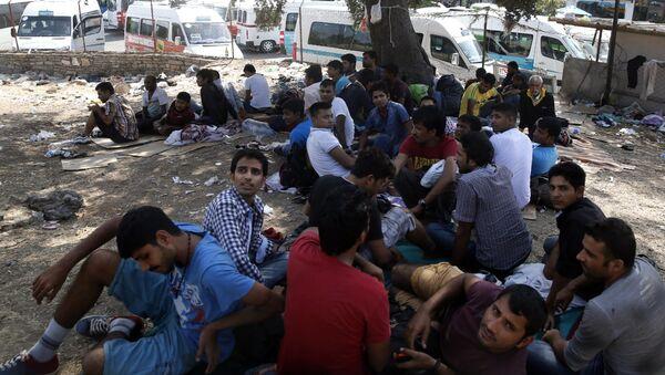 Мигранты с Ближнего Востока - Sputnik Узбекистан