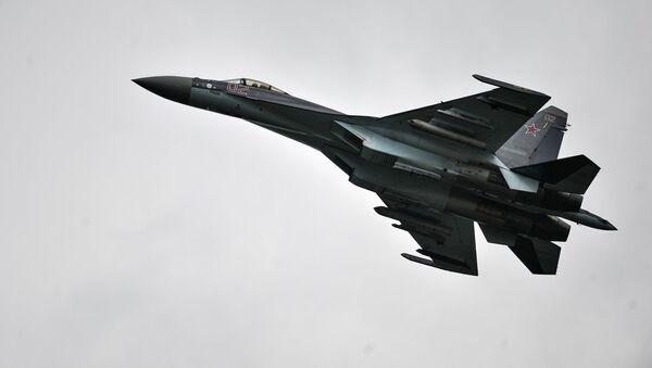 Су-35 қирувчиси. - Sputnik Ўзбекистон
