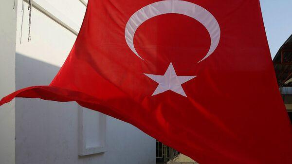 Турецкий флаг - Sputnik Узбекистан