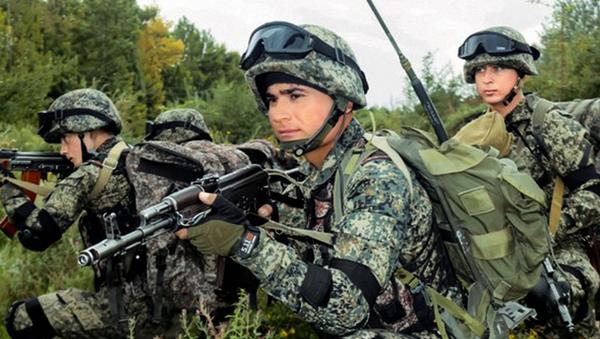 Военнослужащие армии Узбекистана. - Sputnik Ўзбекистон