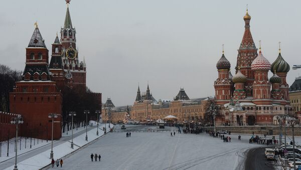 Moskva, Qizil maydon - Sputnik Oʻzbekiston
