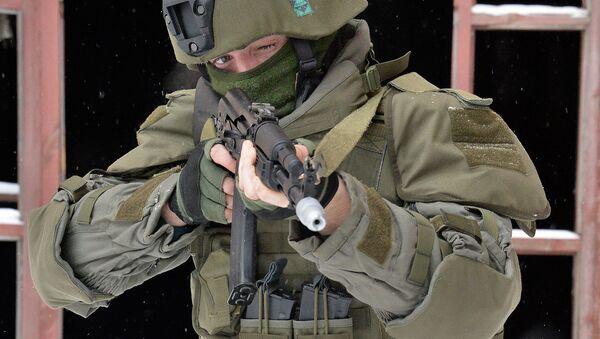 Учения штурмового батальона инженерных войск ВС РФ - Sputnik Ўзбекистон
