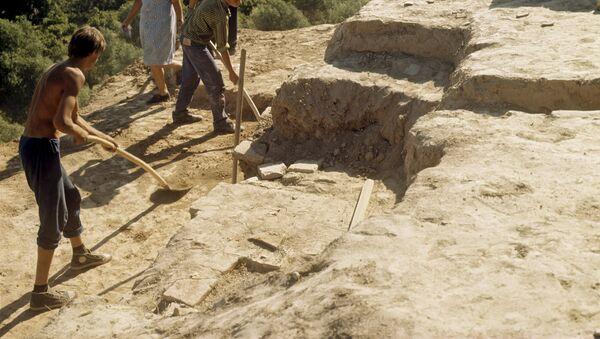 Археологические раскопки. Узбекистан - Sputnik Ўзбекистон