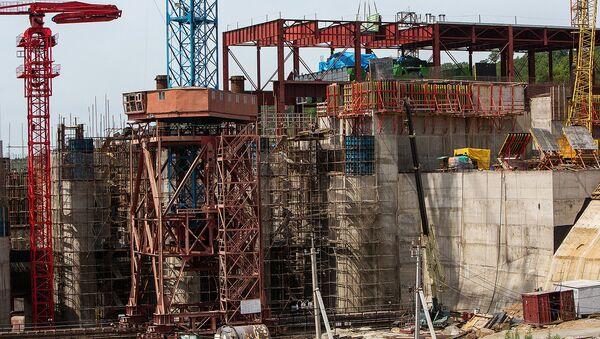Строительство гидроэлектростанции (ГЭС) - Sputnik Узбекистан