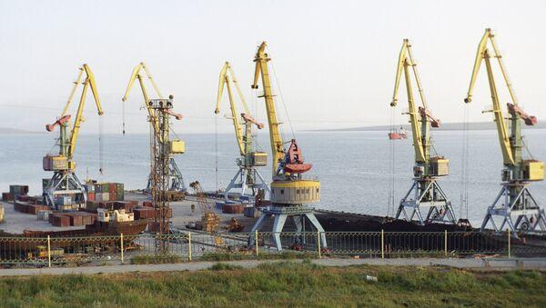 Грузоподъемные краны - Sputnik Ўзбекистон