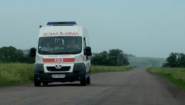 Автомобиль скорой помощи - Sputnik Ўзбекистон