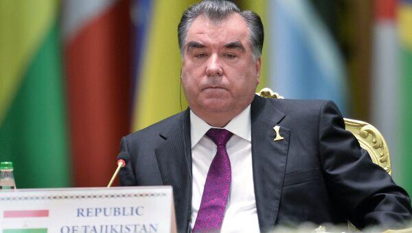 Президент Республики Таджикистан Эмомали Рахмон - Sputnik Ўзбекистон