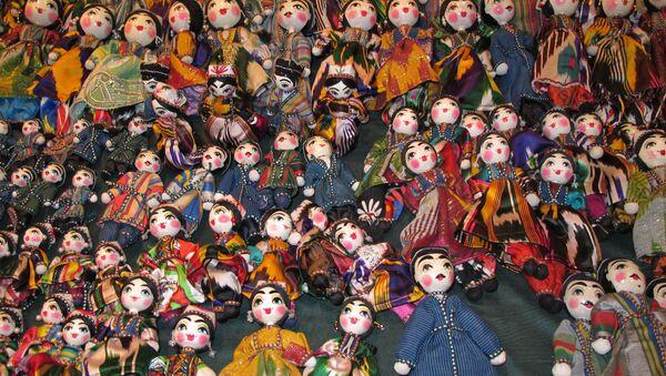 Интерьерная узбекская кукла - Sputnik Узбекистан