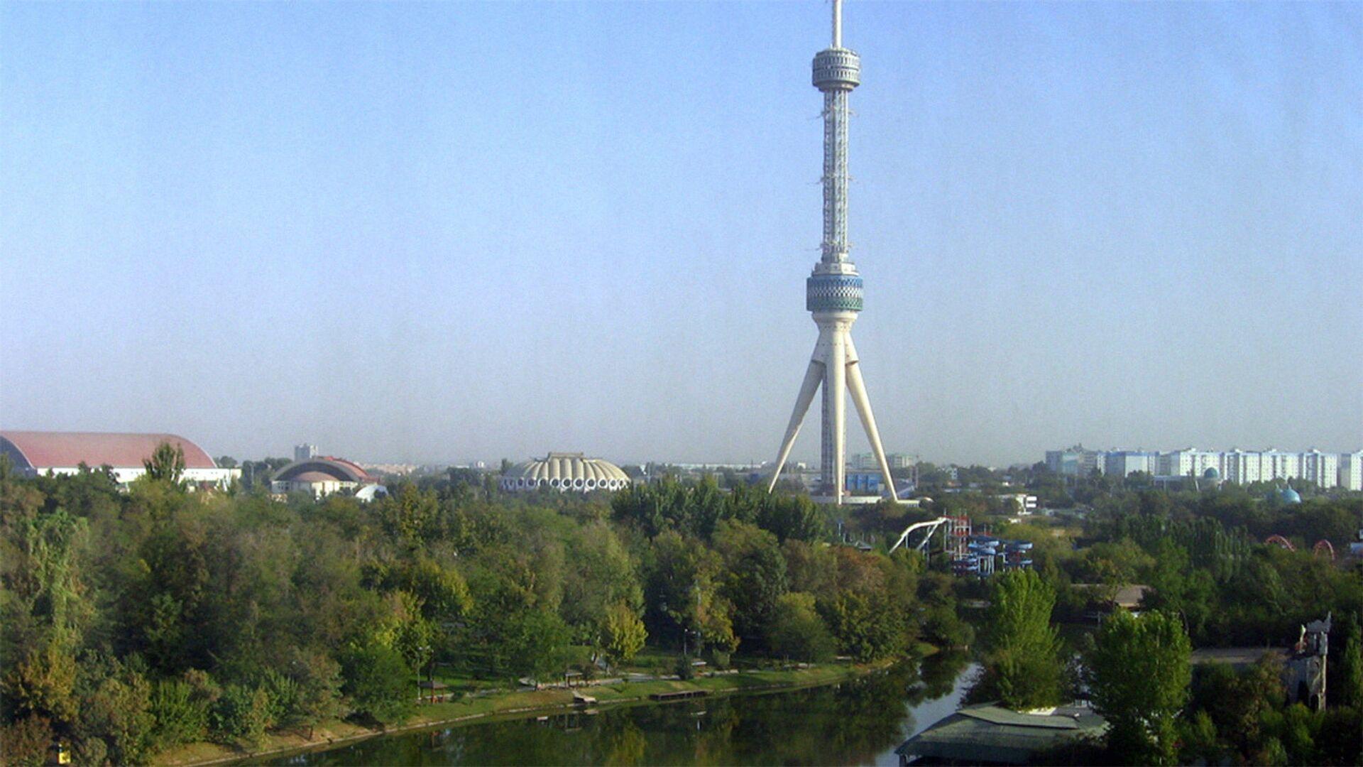 Вид на телебашню в Ташкенте - Sputnik Узбекистан, 1920, 18.09.2021