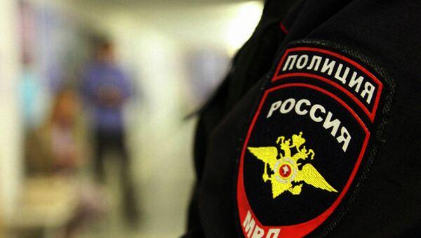 Rossiya politsiyasi xodimi - Sputnik Oʻzbekiston