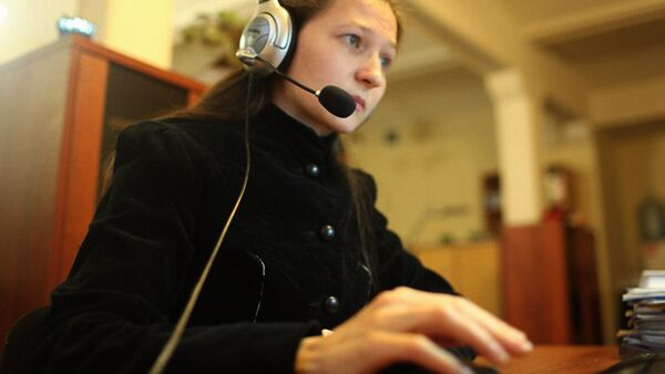 Ishonch telefoni operatori - Sputnik Oʻzbekiston