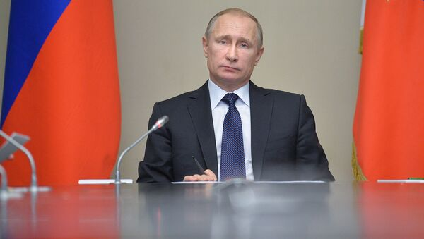 Президент России Владимир Путин - Sputnik Узбекистан