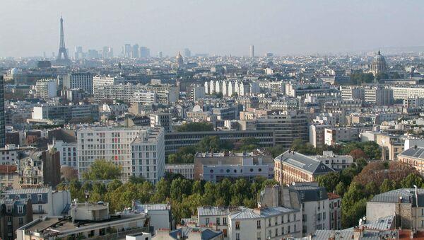 Вид на Париж - Sputnik Ўзбекистон