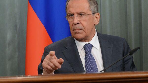 Rossiya TIV rahbari Sergey Lavrov. - Sputnik Oʻzbekiston