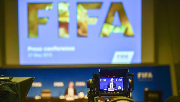 ФИФА логотипи - Sputnik Ўзбекистон