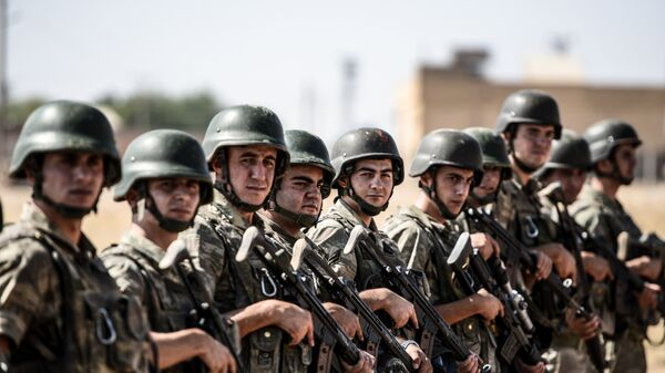 Турецкие военные - Sputnik Узбекистан