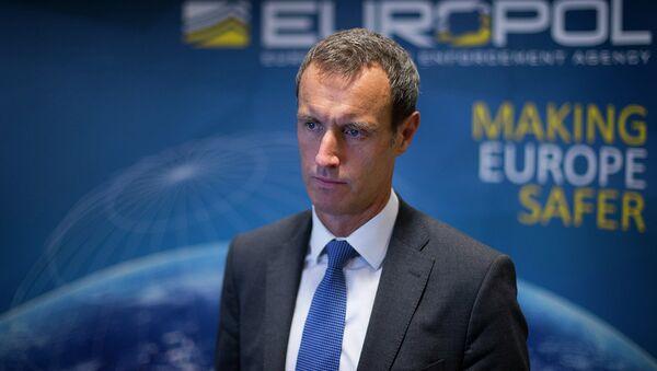 Yevropa politsiyasi rahbari Rob Uenrayt. - Sputnik Oʻzbekiston