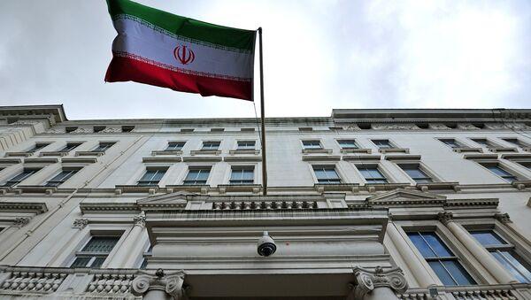 Иранское посольство в Лондоне - Sputnik Ўзбекистон