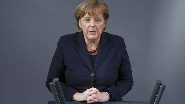 Angela Merkel, Germaniya kantsleri - Sputnik Oʻzbekiston