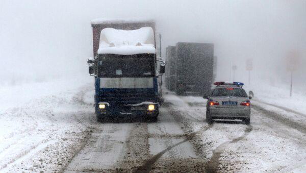 Сильный снегопад в Татарстане - Sputnik Ўзбекистон