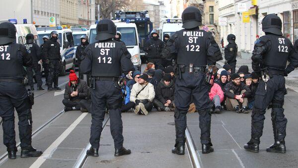 Germaniyada politsiya faoliyati - Sputnik Oʻzbekiston