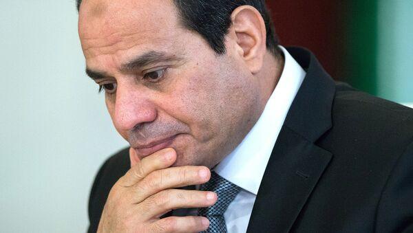 Prezident Arabskoy Respubliki Yegipet Abdel Fatax as-Sisi  - Sputnik Oʻzbekiston