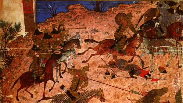 Shoh noma kitobidan miniatyura, 14 asr oxiri - Sputnik Oʻzbekiston