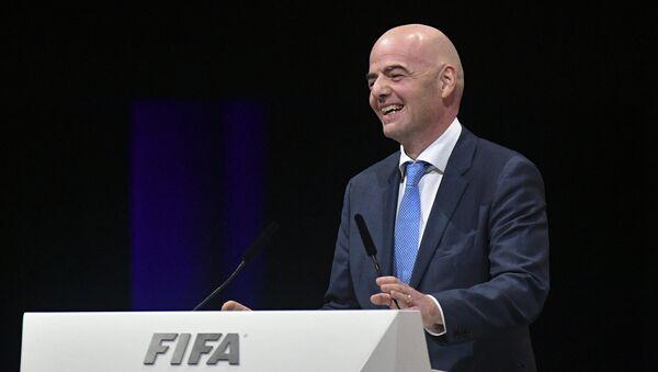 Новый президент ФИФА Джанни Инфантино - Sputnik Узбекистан