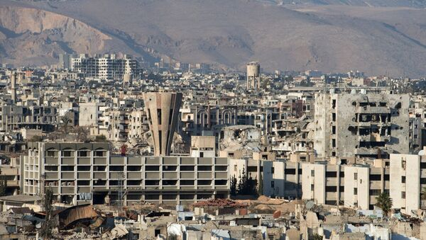 Ситуация в сирийском городе Дамаске - Sputnik Узбекистан