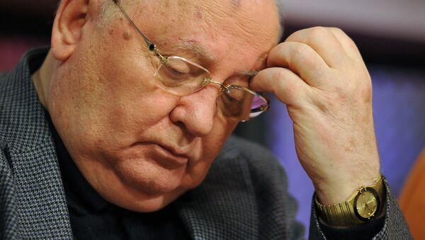 Бывший президент СССР Михаил Горбачев - Sputnik Ўзбекистон