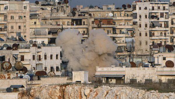 Suriyadagi holat. Aleppo shahri - Sputnik Oʻzbekiston