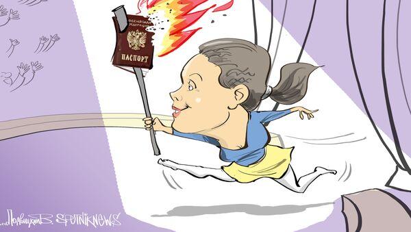 Мария Гайдар заявила, что отказалась от российского гражданства - Sputnik Узбекистан