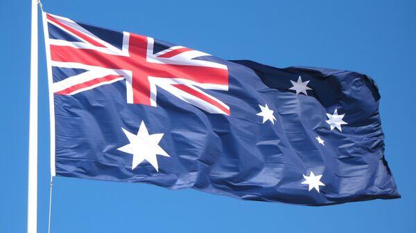 Flag Avstralii. - Sputnik Oʻzbekiston
