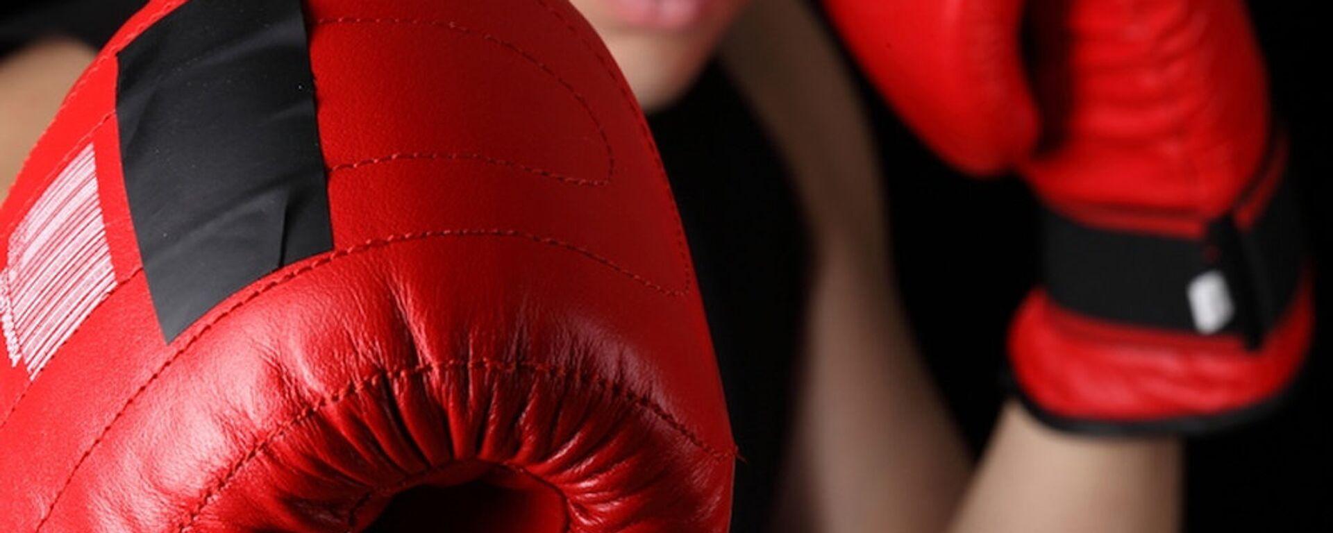 Бокс, боксерские перчатки - Sputnik Ўзбекистон, 1920, 20.09.2021