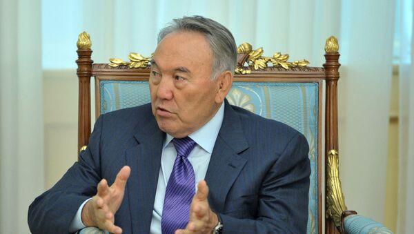 Qozogʻiston prezidenti Nursulton Nazarboyev. - Sputnik Oʻzbekiston